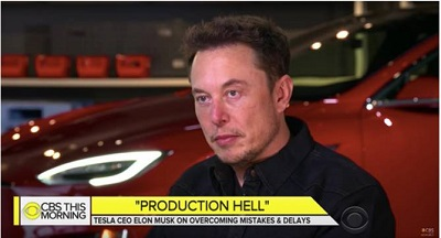 Elon Musk Production Hell photo