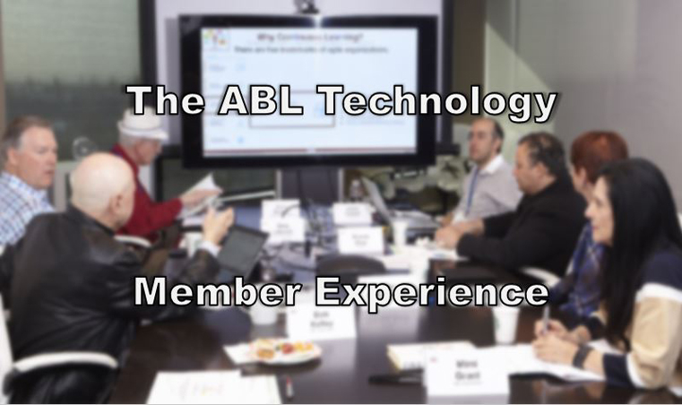 The ABL Technology Member Experience
